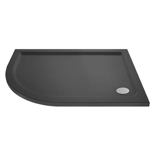 Additional image for Offset Quadrant Shower Tray 1200x800 (LH, Slate Grey).