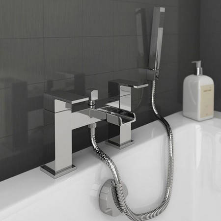 Additional image for Waterfall Bath Shower Mixer Tap With Kit (Chrome).