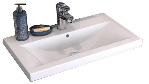 Additional image for 600mm Wall Vanity With 600mm WC Unit & Basin 1 (Cashmere).