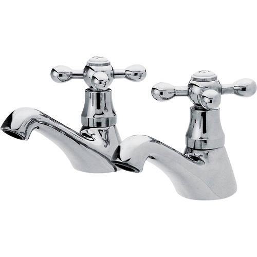 Additional image for Basin Taps (Pair, Chrome).