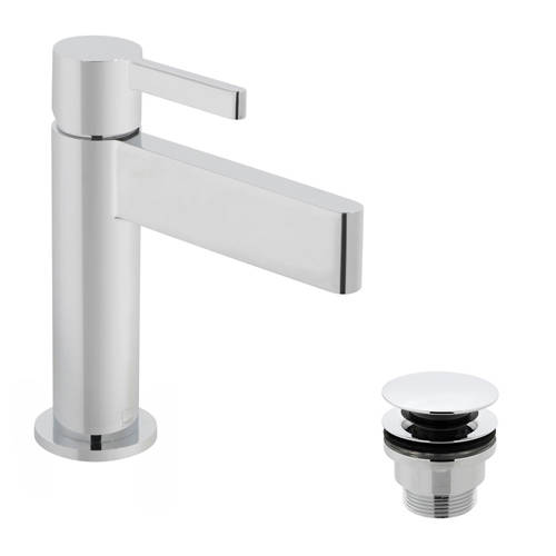 Additional image for Mono Basin Mixer Tap With Universal Waste (Chrome).