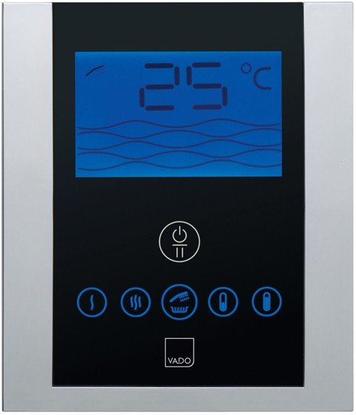 Additional image for Remote Shower Mixer With Diverter & Digital Control Panel. IDE-147B-C/P