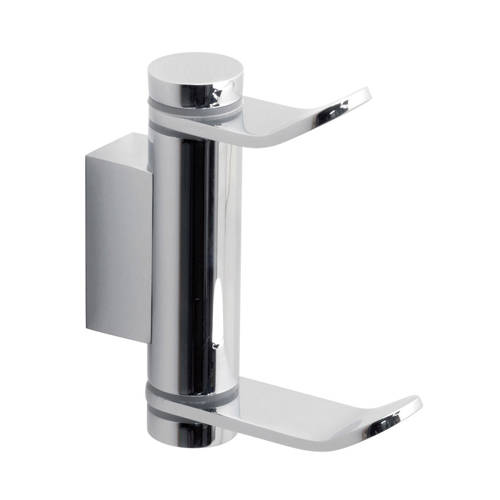 Additional image for Double Swivel Robe Hook (Chrome).