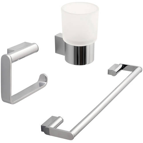 Additional image for Bathroom Accessories Pack A14 (Chrome).