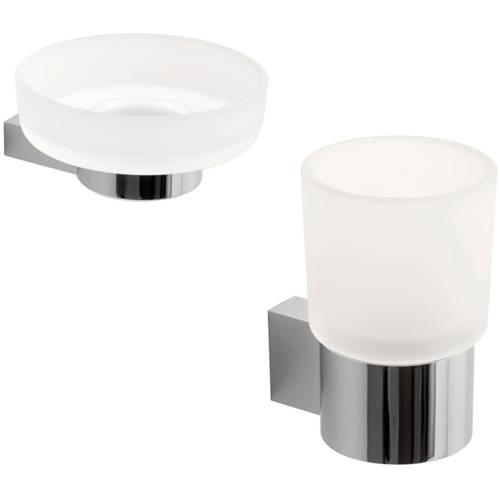 Additional image for Bathroom Accessories Pack A2 (Chrome).