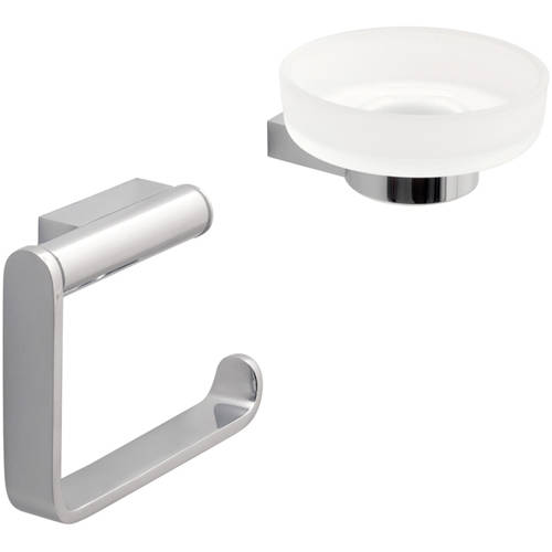 Additional image for Bathroom Accessories Pack A3 (Chrome).