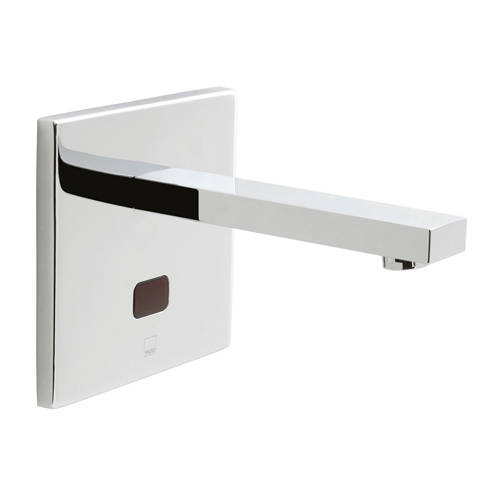 Additional image for Infra-Red Wall Mounted Basin Tap (Chrome).