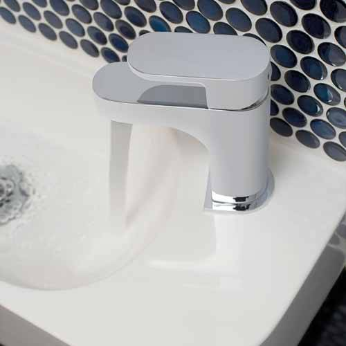 Additional image for Mini Basin Mixer Tap With Universal Waste (Chrome).