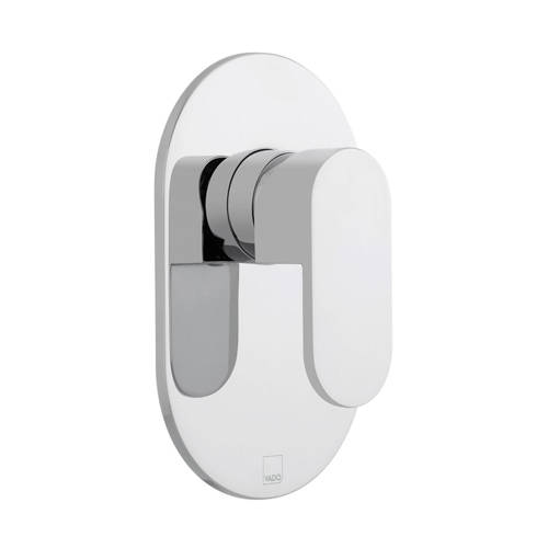 Additional image for Manual Shower Valve With 1 Outlet (Chrome).