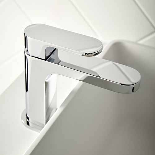 Additional image for Slimline Mono Basin Mixer Tap With Universal Waste (Chrome).