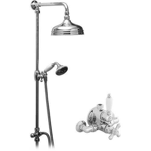 Westbury Thermostatic Shower Valve & Riser Kit  Vado Shower