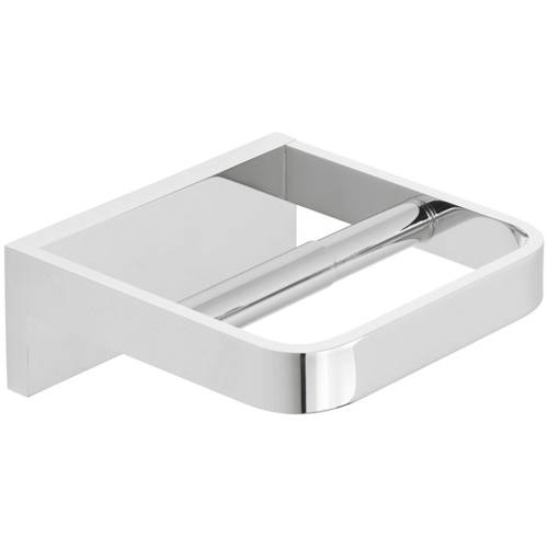 Additional image for Toilet Roll Holder (Chrome).