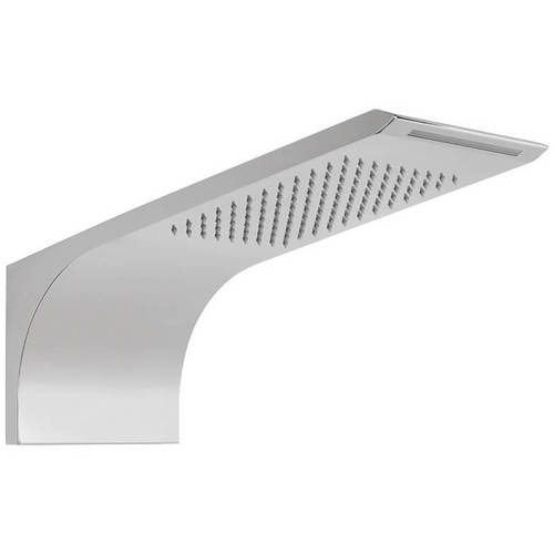 Additional image for Wall Mounted Shower Head With 2 Functions (Chrome).