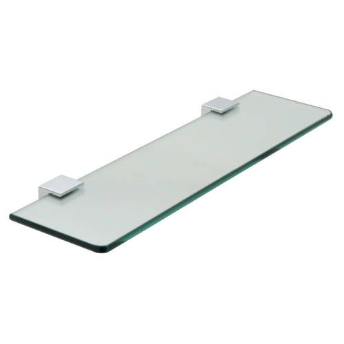 Additional image for Frosted Glass Shelf 558mm (Chrome).