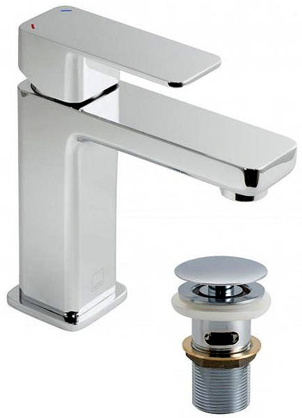 Additional image for Mono Basin Mixer Tap With Clic-Clac Waste (Chrome).