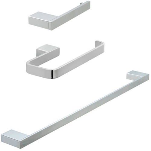 Additional image for Bathroom Accessories Pack A02 (Chrome).