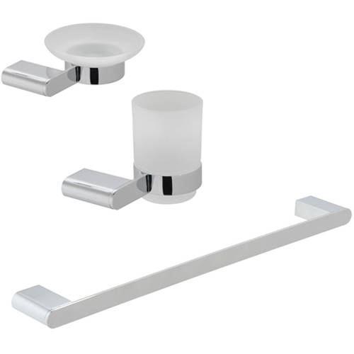 Additional image for Bathroom Accessories Pack A08 (Chrome).