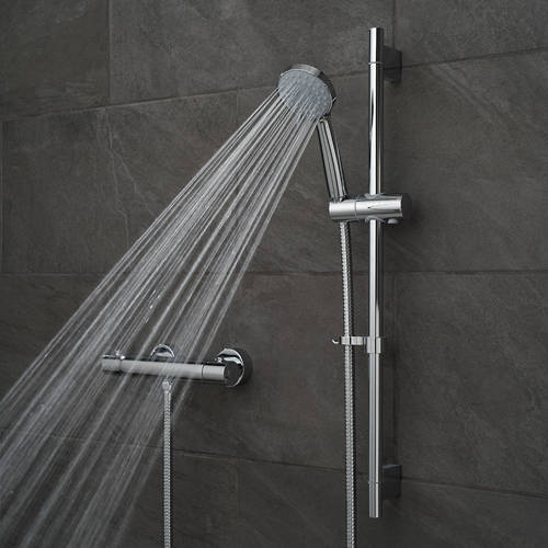 Additional image for Prima Thermostatic Shower Pack & Brackets.