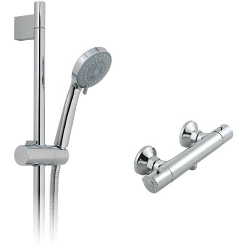 Additional image for Prima Thermostatic Shower Pack (Chrome).