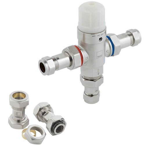 """Additional image for In-Line Thermostatic Mixer Valve 1/2"""" & 22mm (TMV2)."""