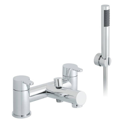 Additional image for Bath Shower Mixer Tap With Kit (Chrome).