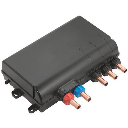 Additional image for SmartDial Thermostatic, Square Head, Bath Filler & Remote.