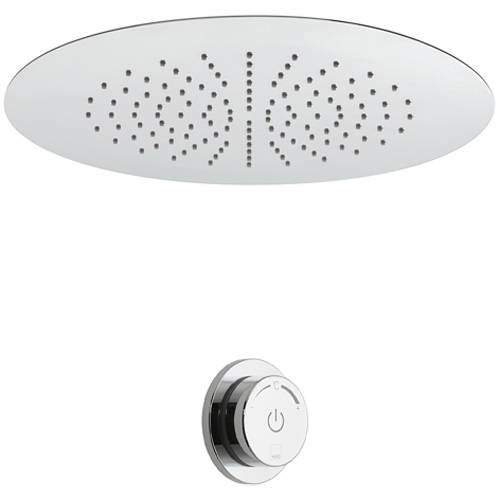Additional image for SmartDial Thermostatic Shower & Round Head (1 Outlet).