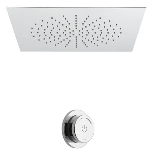 Additional image for SmartDial Thermostatic Shower & Square Head (1 Outlet).