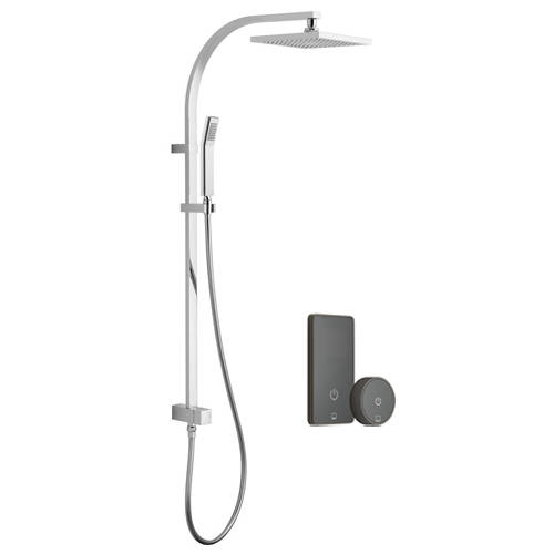 Additional image for SmartTouch Shower, Remote & Rigid Riser (Pumped, 1 Outlet).