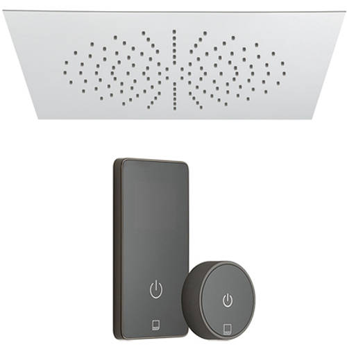 Additional image for SmartTouch Shower, Remote & Square Head (Pumped, 1 Outlet).