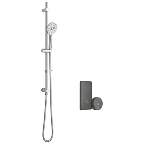 Additional image for SmartTouch Shower, Remote & Slide Rail Kit (Pumped, 1 Outlet).