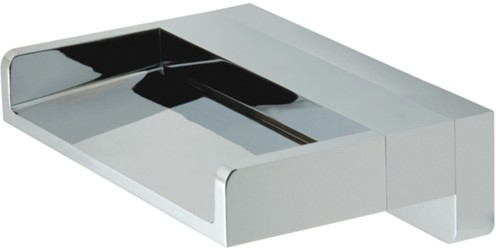 Additional image for Wall Mounted Waterfall Bath Spout (Chrome).
