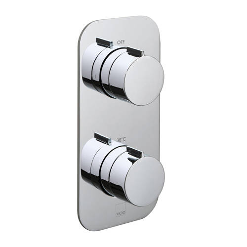 Additional image for Thermostatic Shower Valve With 2 Outlets & All Flow.