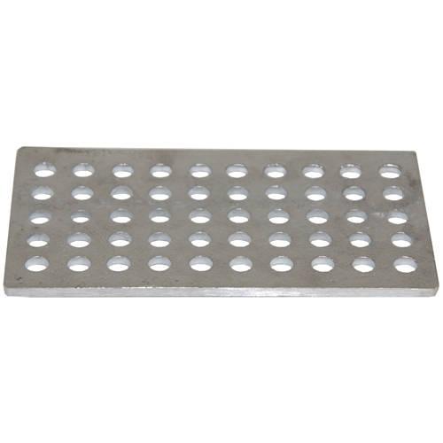 Additional image for Aluminium Balcony Drain Grating (189x104x6mm).