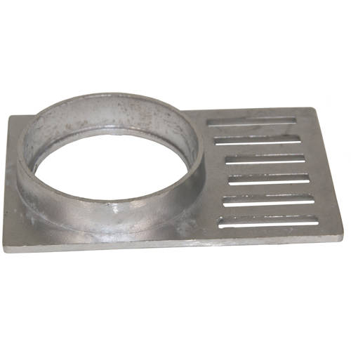Additional image for Aluminium Balcony Drain Grating (189x125x6mm).