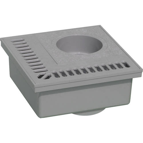 Additional image for PVC Drain With Vertical Outlet (200x200mm).