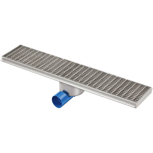 Additional image for Kitchen Channel Drain 800x200mm (Mesh Grating).