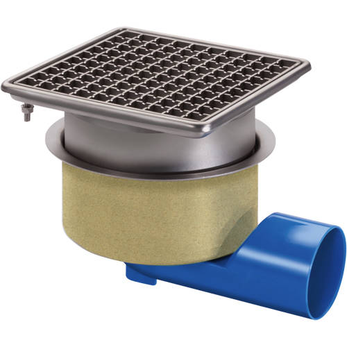 Additional image for Commercial Drain 200x200mm (Mesh Grating).