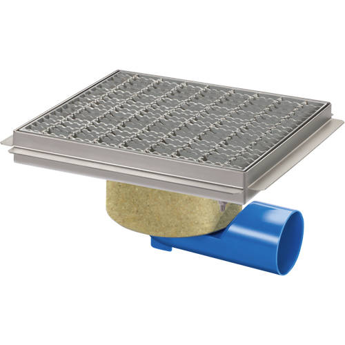 Additional image for Commercial Drain 300x300mm (Mesh Grating).