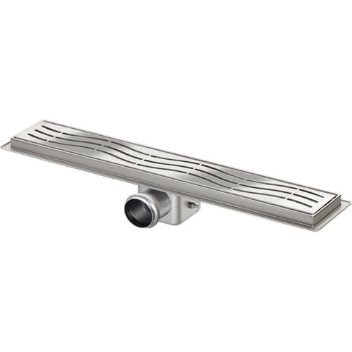 Additional image for Standard Shower Channel 700x100mm (Wave).