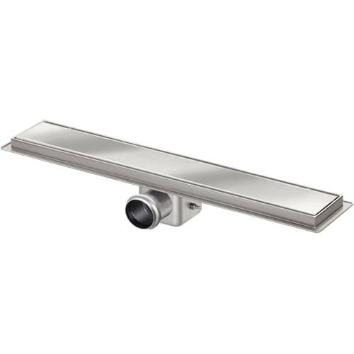 Additional image for Standard Shower Channel 800x100mm (Plain, S Steel).