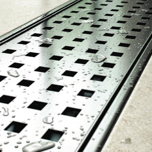 Additional image for Standard Shower Channel 1100x100mm (S Steel).