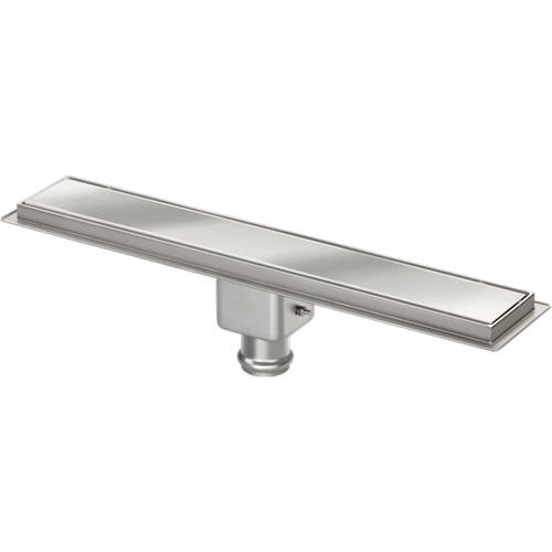 Additional image for Standard Shower Channel 900x100mm (Plain, S Steel).
