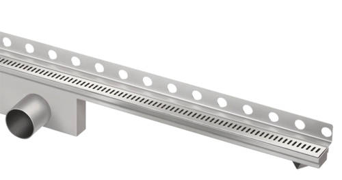 Additional image for Perfect Shower Channel, Wall Flange 700x35mm.