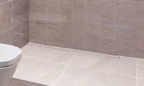 Additional image for Shower Tile Channel 1000x50mm (Stainless Steel).
