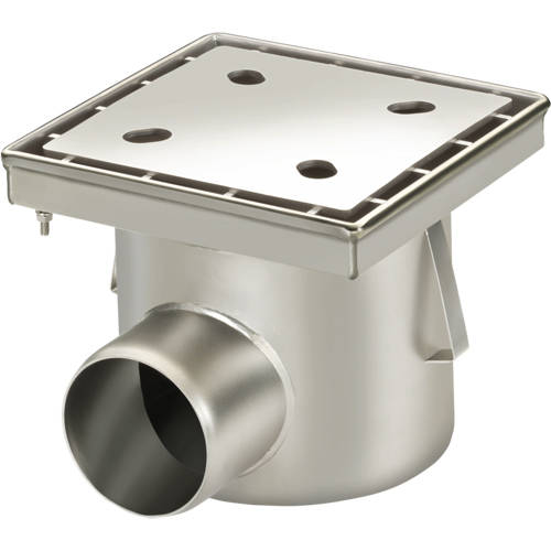 Additional image for Screw Down Drain With Horizontal Outlet 250x250.