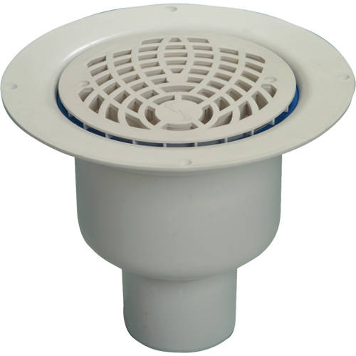Additional image for Shower Drain With 75mm Vertical Outlet (150mm, PEH).
