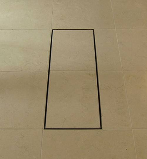 Additional image for Shower Tile Channel 1020x200mm (Stainless Steel).
