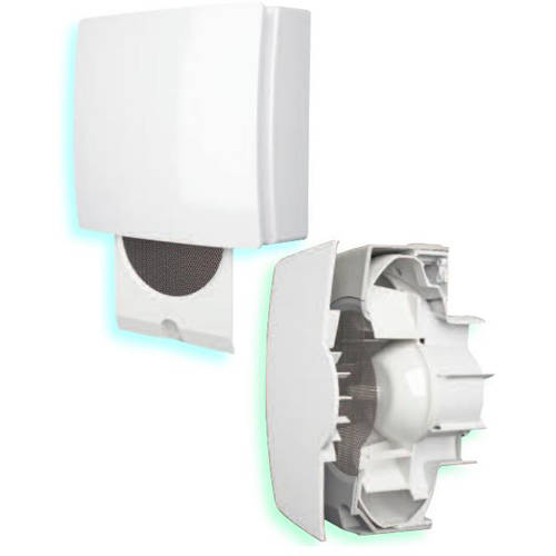 Additional image for Low Voltage Extractor Fan 3 Speeds (Timer, Humidistat & Cord).