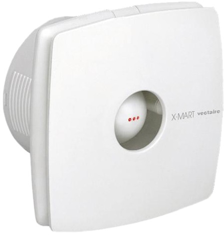 Additional image for Timer Extractor Fan With Humidistat. 100mm (White).